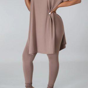 plus size legging set
