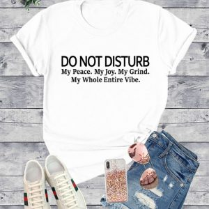 White and Black T-Shirt