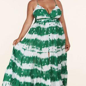 Plus Size Flirty Maxi Dress