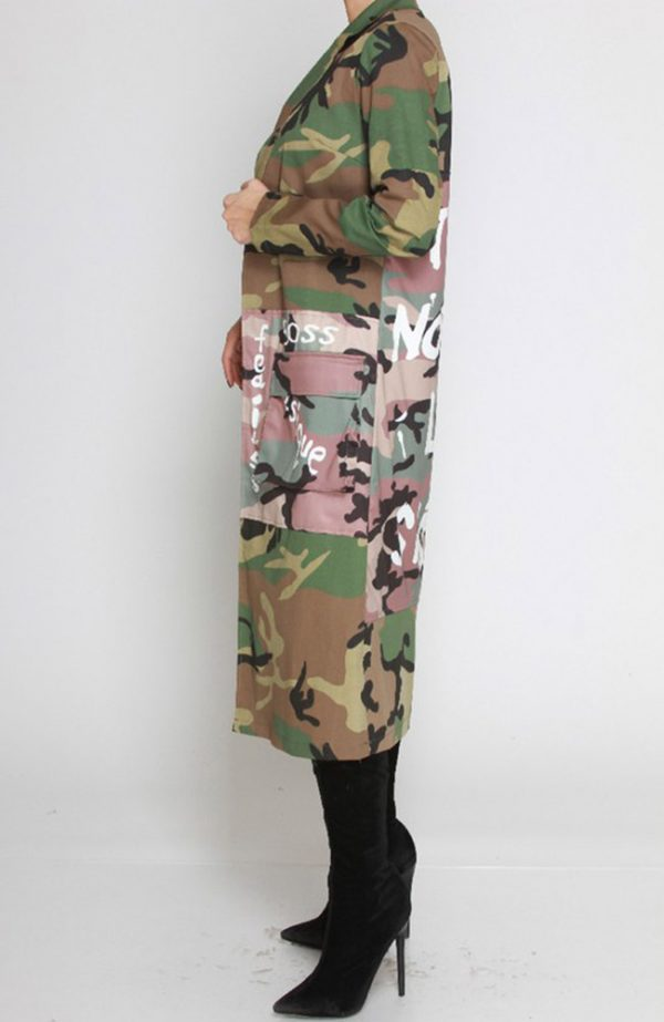 Camo Duster Camouflage Jacket Nothing like a sister jacket